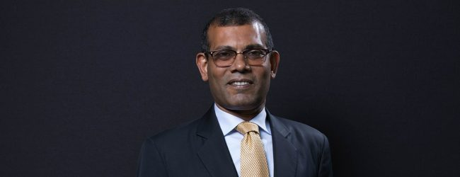 Former Maldivian President Mohamed Nasheed congratulates new PM