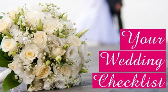 The Basic Wedding Planning Checklist