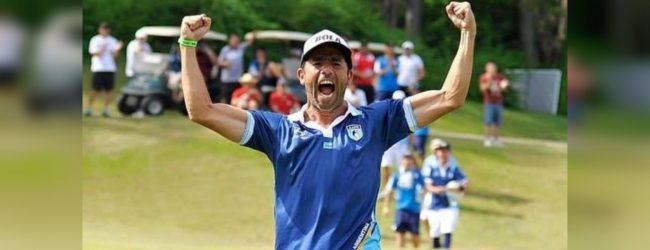 Argentina's Perrone crowned footgolf world champion