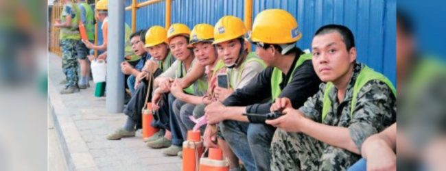 Sending Sri Lankans and Receiving Chinese Workers: Emerging Trend of Labour Migration in Sri Lanka