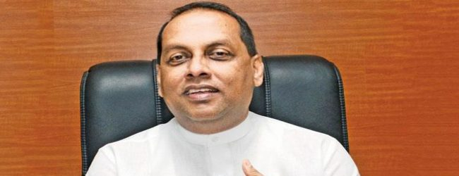 Mahinda Amaraweera's letter to the Speaker