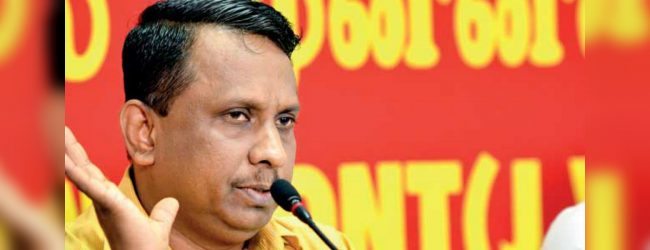 """Opposition Leader should be from the JVP"" – Samatha Vidyarathna"