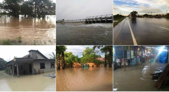 Flood situation reported in Mullaitivu