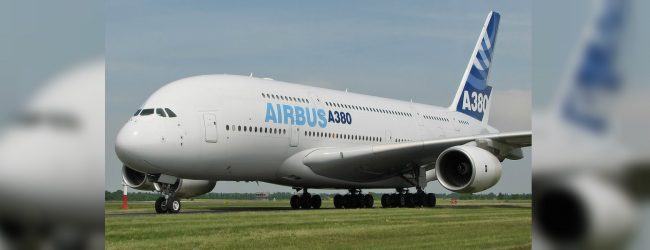 A-380 emergency landing at the BIA