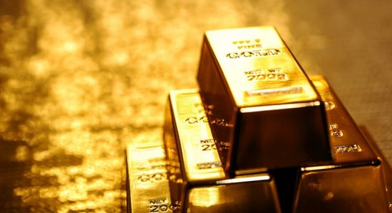 Price of gold on the rise