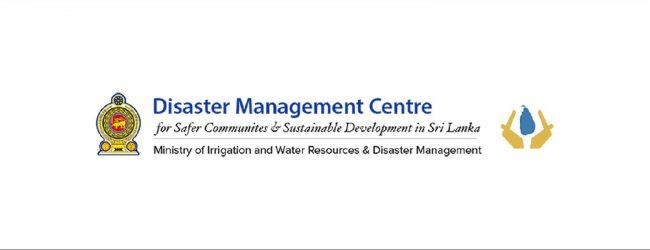 """North & East returning to normalcy"" – Disaster Management Centre"
