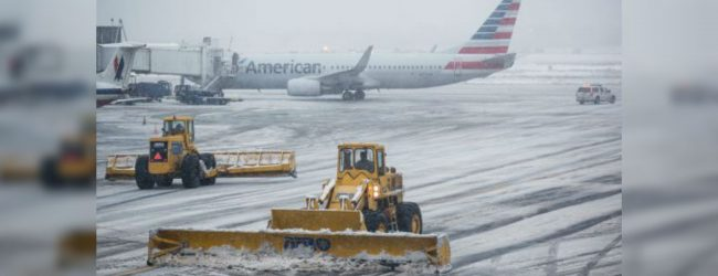 Winter storm cancels U.S. flights