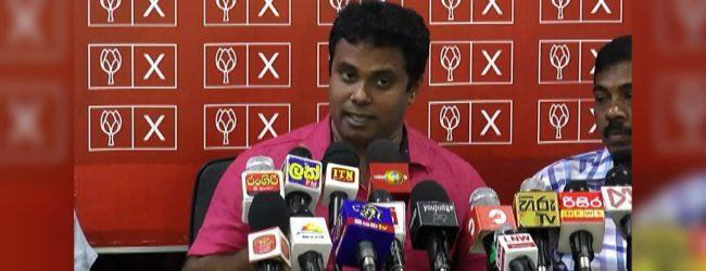 """RW is afraid of the public and elections"" – Krishantha Pushpakumara"