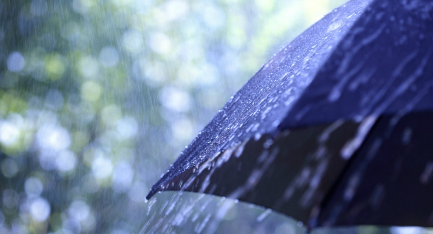 Showery conditions expected over the island