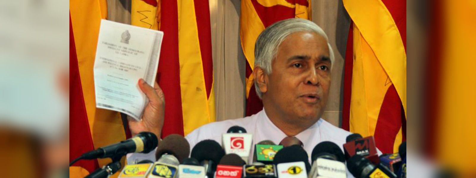 Notice issued on Former Chief Justice Sarath N. Silva