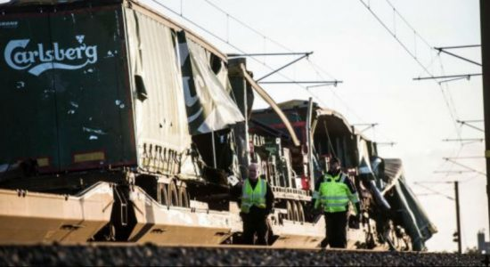 Six killed in train accident on bridge in Denmark