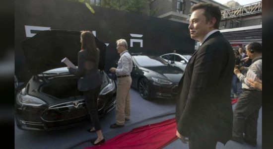 US electric car maker Tesla opens new factory in Shanghai