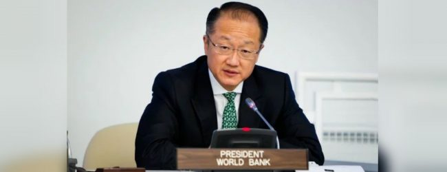 World Bank chief to step down on Feb. 1