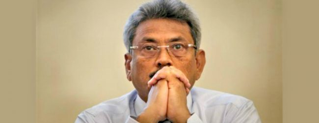There is no law restricting me from giving up the US citizenship – Gotabaya