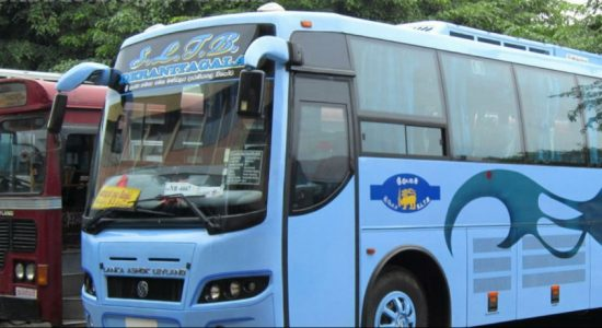 Negombo-Colombo expressway buses on strike