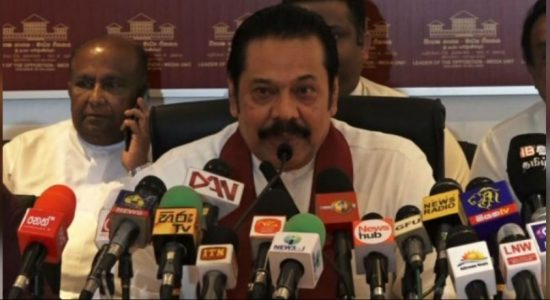 Opposition Leader's office open to issues from across the country, not just one area – Mahinda Rajapaksa