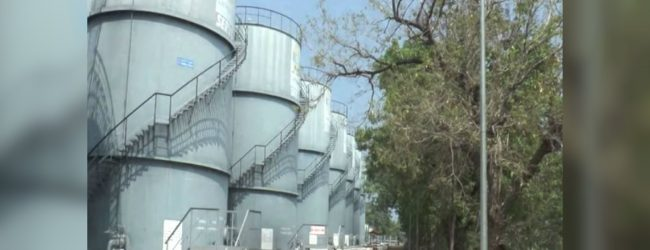 Report on vandalism of Trinco oil tanks