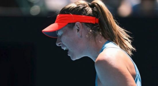 Five times Grand Slam champion Maria Sharapova out of the Australian Open