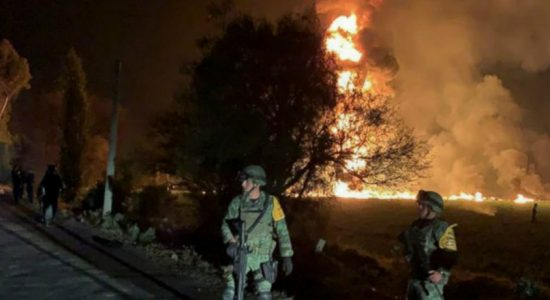 Death toll of Mexico pipeline explosion adds up to 73