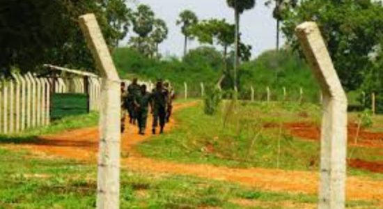 Army releases 1201 acres of land in the North