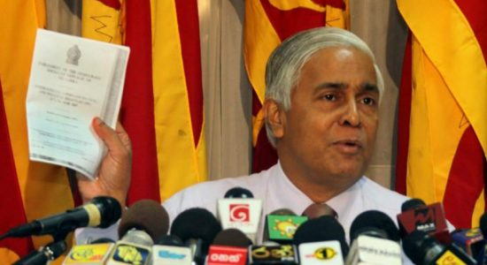 Sarath N. Silva ordered to appear before Supreme Court