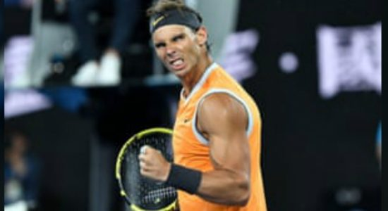 Nadal defeats Tsitsipas to reach Australian Open final