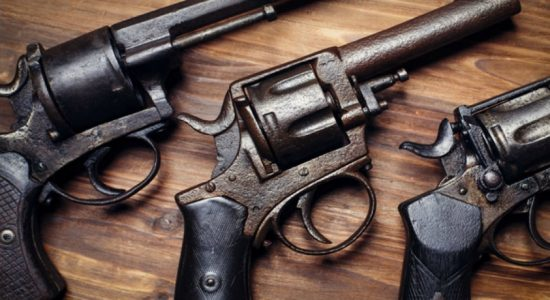 2 arrested for posession of illegal firearms