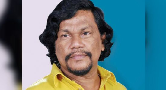Veteran actor Ravindra Yasas admitted to the Horana Base Hospital