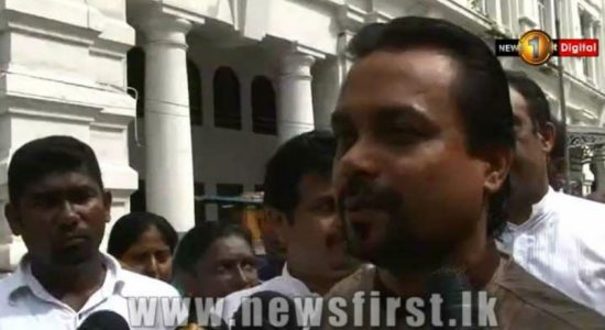 Wimal Weerawansa appears before CID