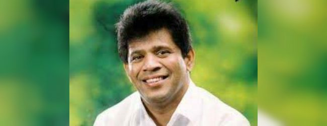 Ajith Mannaperuma sworn in as State Minister of Environment