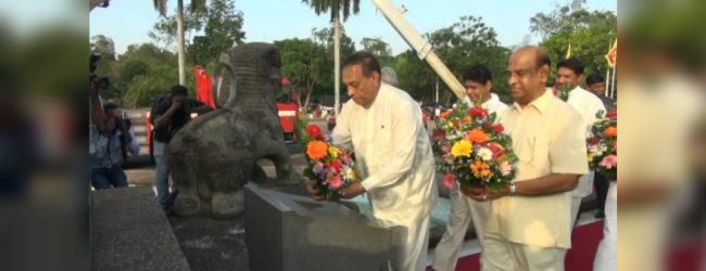 Father of the nation honoured