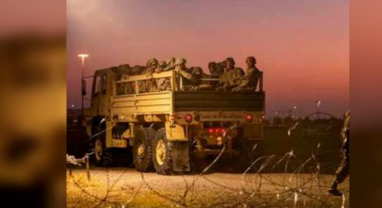 Pentagon sending 3,750 extra U.S. forces to border with Mexico