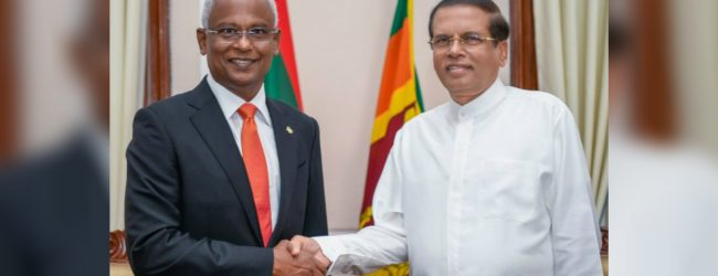 Maldives & Sri Lanka to enhance cooperation to curb drug trafficking