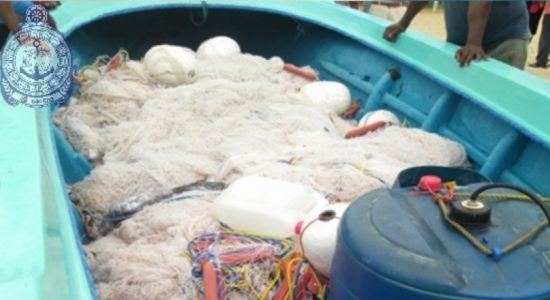 11 suspects engaged in illegal fishing apprehended