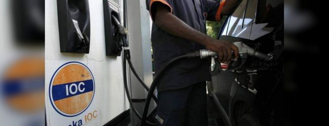 Lanka IOC's revised fuel prices