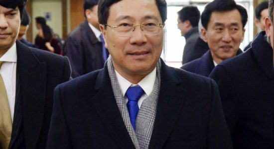 Vietnam's Foreign Minister arrives in Pyongyang