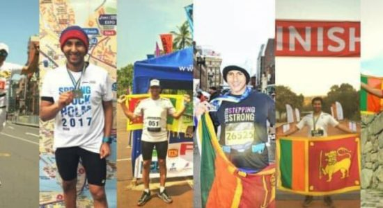 Lankan makes history by running a marathon across the seven continents