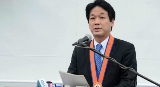 Special advisor to Japan PM in Sri Lanka