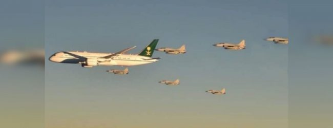 Pakistan fighter jets escort Saudi crown prince's jet in Asia tour