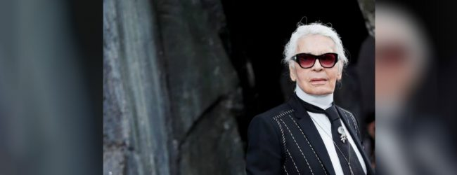 Fashion icon Karl Lagerfeld dies aged 85