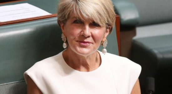 Julie Bishop says she will not re-contest