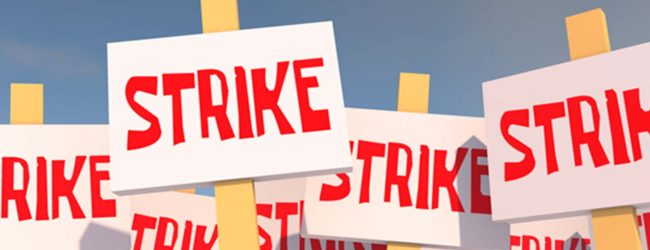 Government executive officers on island wide strike today
