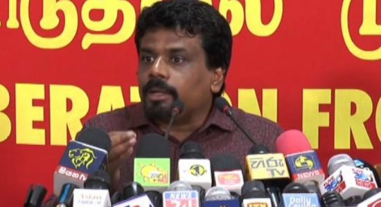 Anura Kumara says that the bond scam has a vast network of culprits