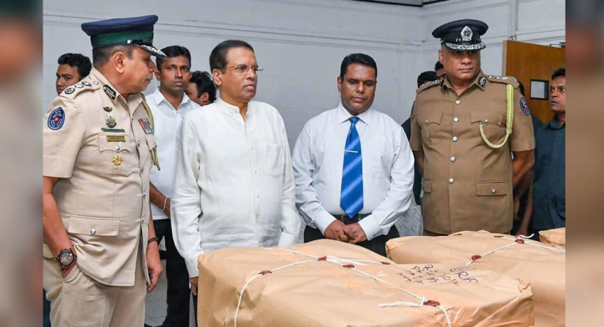 Largest heroin haul in Sri Lanka seized in Colpetty