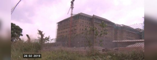 Battaramulla Military HQ construction work delayed