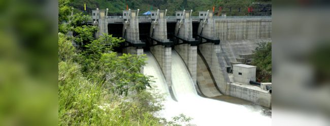 Upper Kotmale sluice gates opened for maintenance