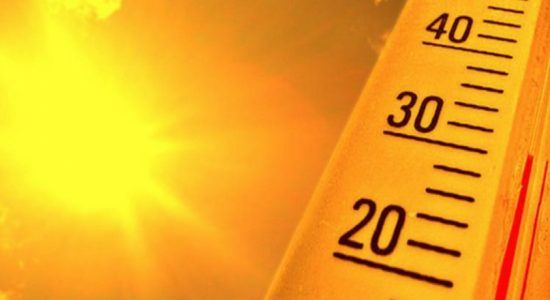 Hot weather advisory for several provinces: Extreme caution must be exercised