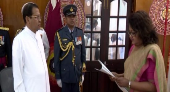 Justice Deepali Wijesundera sworn in as the Acting President of CoA