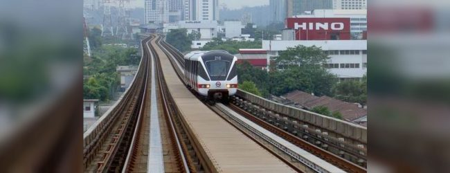 Light Rail Transit System from Malabe to Fort