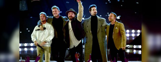 Backstreet Boys revive old favorites at iHeartRadio awards